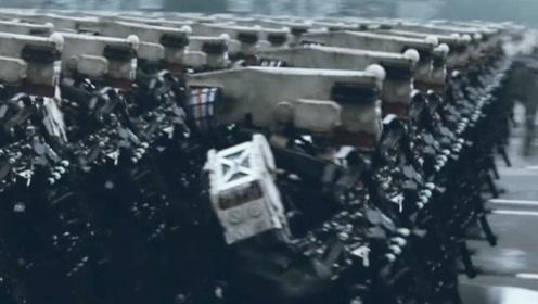 这才叫战斗民族科幻片,机械大军红场阅兵,全程热血沸腾!