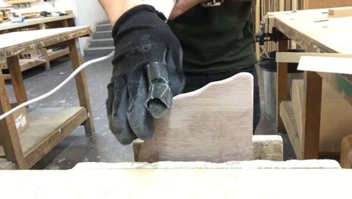 神奇的电动手套,戴上后能打磨雕刻石头,连雕刻工具都省了