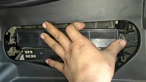 本田缤智更换空调滤清器附规格尺寸