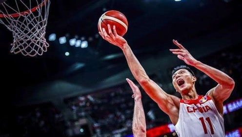 中国男篮世界杯三战十佳球 易建联擎天一柱方硕强势突破2+1