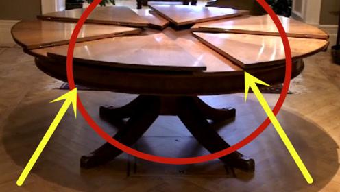 世界上最贵的桌子,由5千个零件组成,当旋转时才知道它贵在哪!