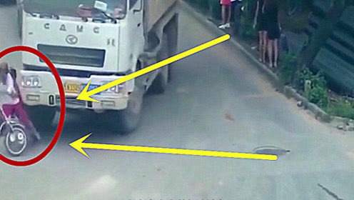 母子骑车回家,5秒后两人竟双双毙命,丈夫查看监控难以接受!