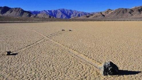 美国死亡谷的神秘石头,能自己行走上百米,科学家表示一脸懵逼