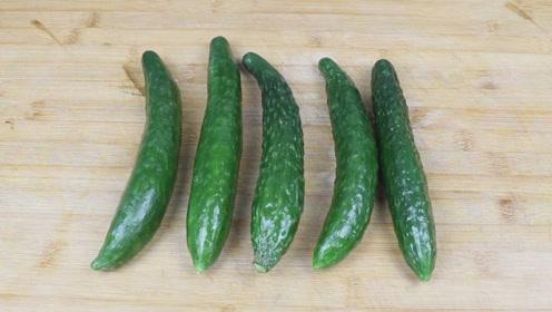 黄瓜这样做太好吃了,简单省事,一次5根不够吃!