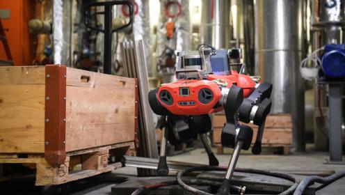 老外研发自动腿式机器人,移动灵活可穿越障碍,代替人类巡检作业