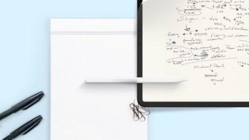 """贴膜已out,现在流行给iPad贴""""纸"""",屏幕更清晰"""