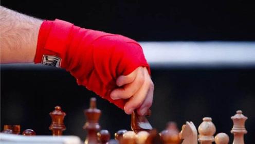 最暴力也是最优雅的比赛 参赛选手一边流鼻血一边下棋
