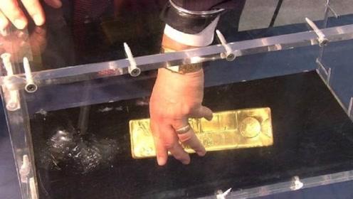 70斤重黄金,价值800万为何无人能够成功?老外实验说出原因