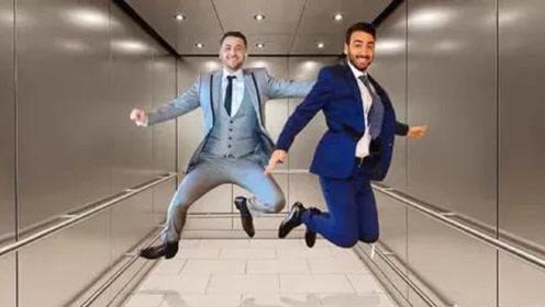 如果电梯突然下坠,人在落地的瞬间跳起来能活命吗?结果让人意外