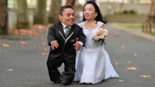 世界最矮的夫妻,俩人加起来还没成人高,生活却让人感到羡慕