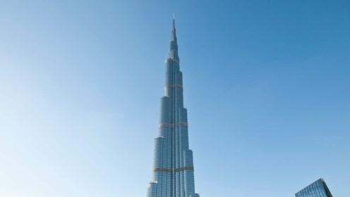 迪拜建世界第一高楼,耗资2000亿,275层坐电梯要12分钟