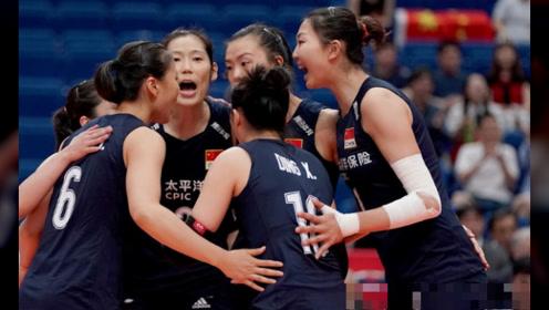 女排世界杯2支球队获首胜!排名:中国队第1,3支球队0胜垫底