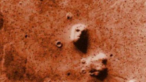 """火星表面出现""""人脸""""?这是否能证明火星生命的存在?"""