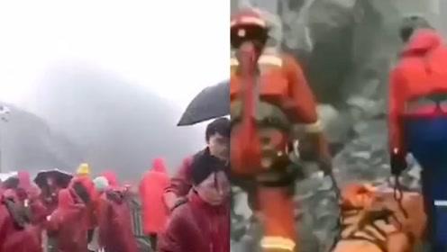 """官方回应""""情侣玉龙雪山殉情"""":一名24岁男子独自翻越护栏跳崖"""