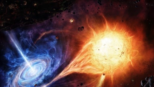 蓝色恒星?出现在银河系内,靠近太阳系会给我们带来灾难!