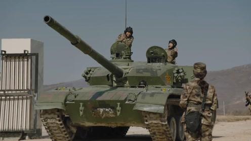陆战之王:牛努力参加坦克大赛,叶晓俊在一旁喊加油,太幸福了