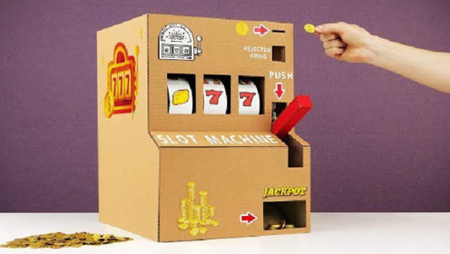 小伙DIY一个微型的游戏机,原来打三个7,是这么简单!