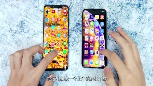 麒麟980大战苹果A12,安装一千个应用后,这差距真尴尬啊