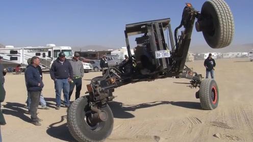 """56岁大叔发明""""怪物""""汽车,每小时65公里,6万元做一台"""