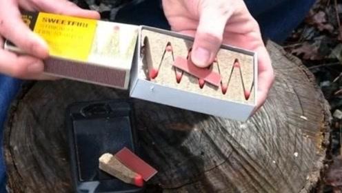 世界最贵火柴,一盒40块钱,而且每根只能烧400秒