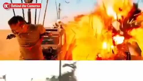 《疯狂的麦克斯4》正片画面VS片场拍摄画面