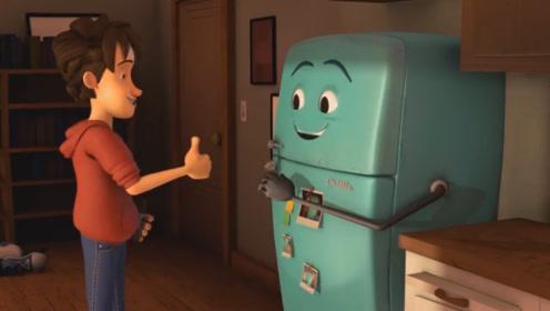 老旧冰箱自以为要报废了,趁主人不在离家出走,结局令人泪目!