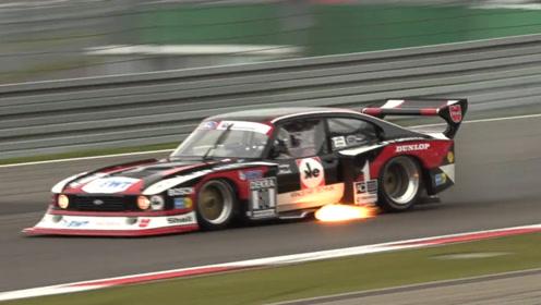 厉害了!这辆超级跑车竟然在赛场上喷火,这操作真能跑第一?