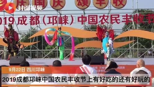 以丰收的喜悦欢庆新中国成立70周年 2019成都邛崃中国农民
