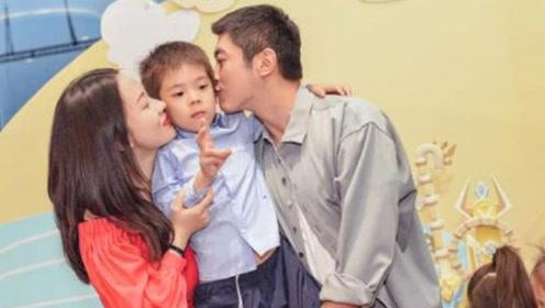 """杜江霍思燕为儿子庆6岁生日 嗯哼变""""蜘蛛侠""""一家三口超温馨"""