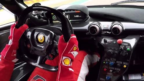 F1车手打方向盘速度有多快?话不多说,看完你就会明白!