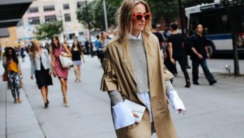 针织衫+衬衫,2019最爆表穿搭方法,时髦炸了!