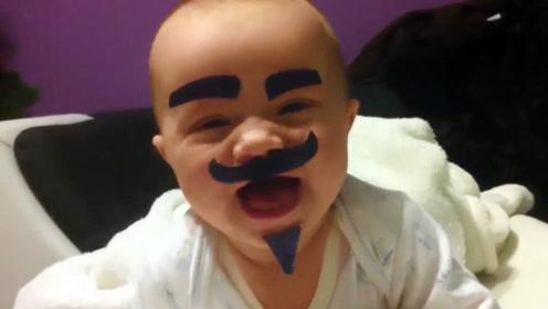 让爸爸带娃一天,宝妈回家后看见了这一幕,瞬间让人憋不住大笑