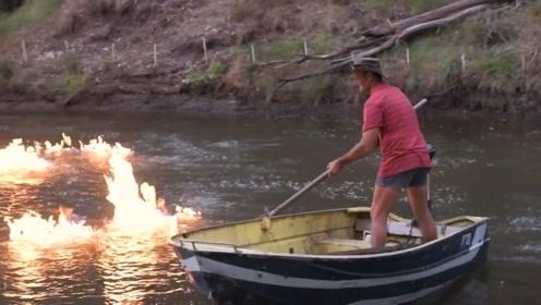 点火就燃烧的河流,真相背后值得让人反思