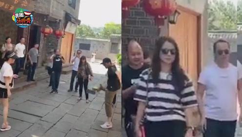 """张智霖与""""富婆""""踢毽子,袁咏仪脸上表情一言难尽"""