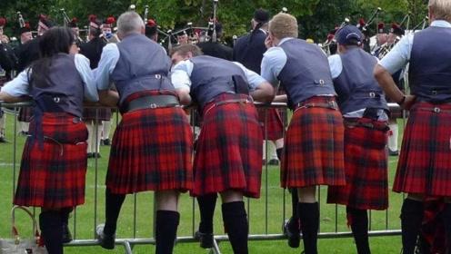 这两个国家的男人也穿裙子,第二个还天天穿,真不愧是裙子王国!