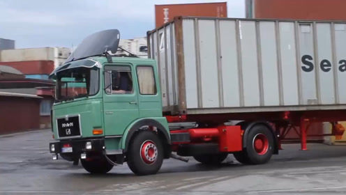 疑惑多年,拉集装箱的半挂车会超载吗?这箱子最多装几吨?