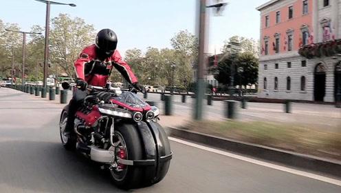 会变形的四轮摩托,能垂直升空,再也不怕堵车