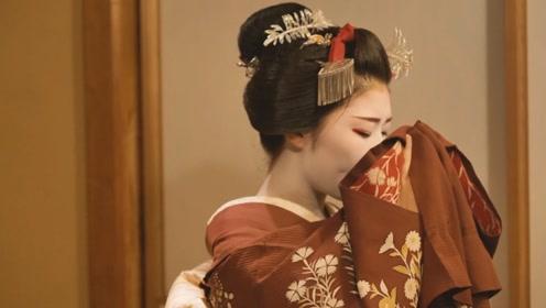日本17岁的艺妓陪我吃了一顿饭 这钱花的值