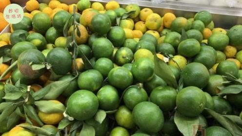橘子大量上市,学一招挑选甜橘子,大棚老果农传授的,一挑一个准