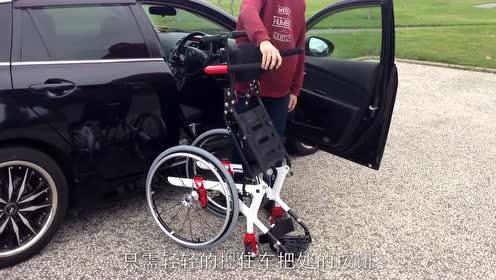 装在汽车上的黑科技!让腿脚不便的人也能自由上下车,网友:给力