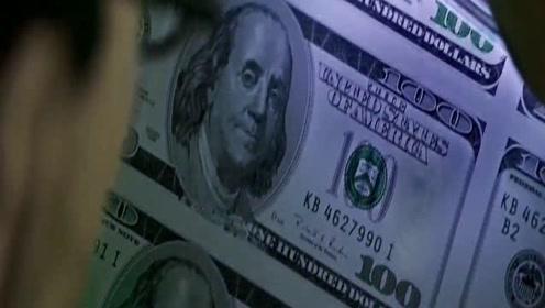 假钞批量打印出来,其质量和真钞不相上下,相信连银行都查不出来