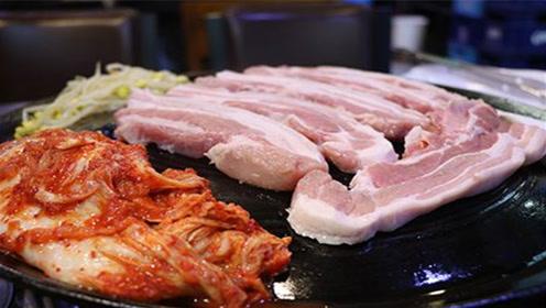 """猪价飞涨!韩媒称五花肉变""""金五花"""",韩网友:羡慕中国猪价"""