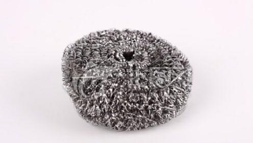 钢丝球里这么多的细菌?钢丝渣都吃到肚子里,换掉它刻不容缓