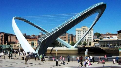 世界独一无二的摇摆式大桥,设计者获2.8亿奖金,开3天就停用!