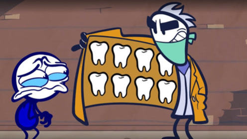 黑心牙医胡乱诊治,得到铅笔男孩的大门牙后,还拿去卖钱