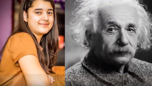 11岁天才少女,智商比爱因斯坦还高,看完实在佩服!