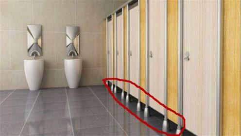 公厕的门为啥都少一截?不怕被偷看吗?其实设计大有讲究