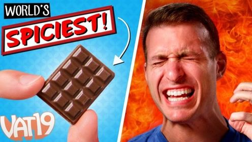 国外一款巧克力,比普通巧克力还小,就是无人能吃完一块