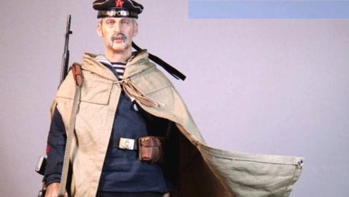 二战苏联红色海军士兵模型,装备服饰虽然简单,但很有时代特色!
