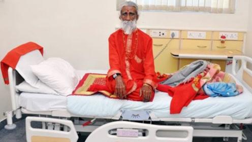 印度90岁老人,称自己77年没吃过饭,看完监控后真相大白了